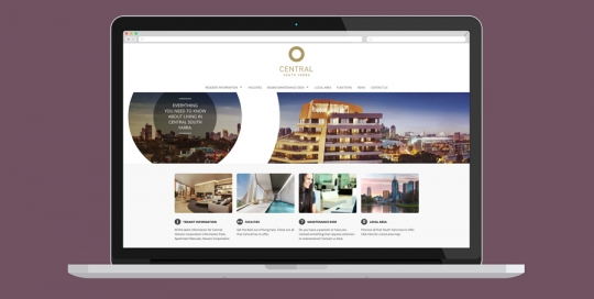 Central South Yarra Website Design
