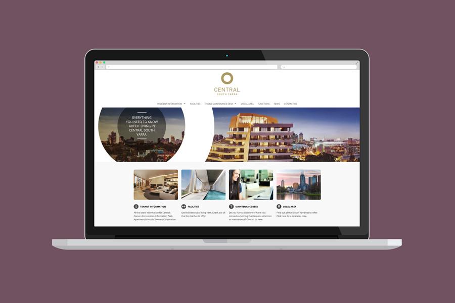 Central South Yarra Website Design