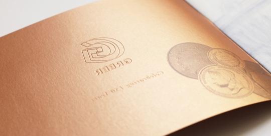 Greer Document Design Cover