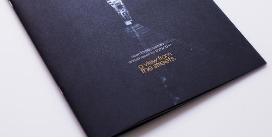 Open Family Australia Annual Report Design