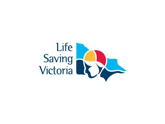 Life Saving Victoria Branding Logo