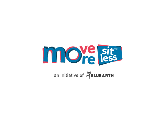 Move More Sit Less Branding Logo