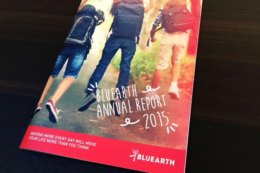Bluearth Annual Report