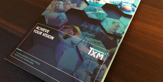 TXM Lean Solutions Brochure Design