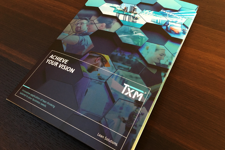 TXM Lean Solutions Brochure Design