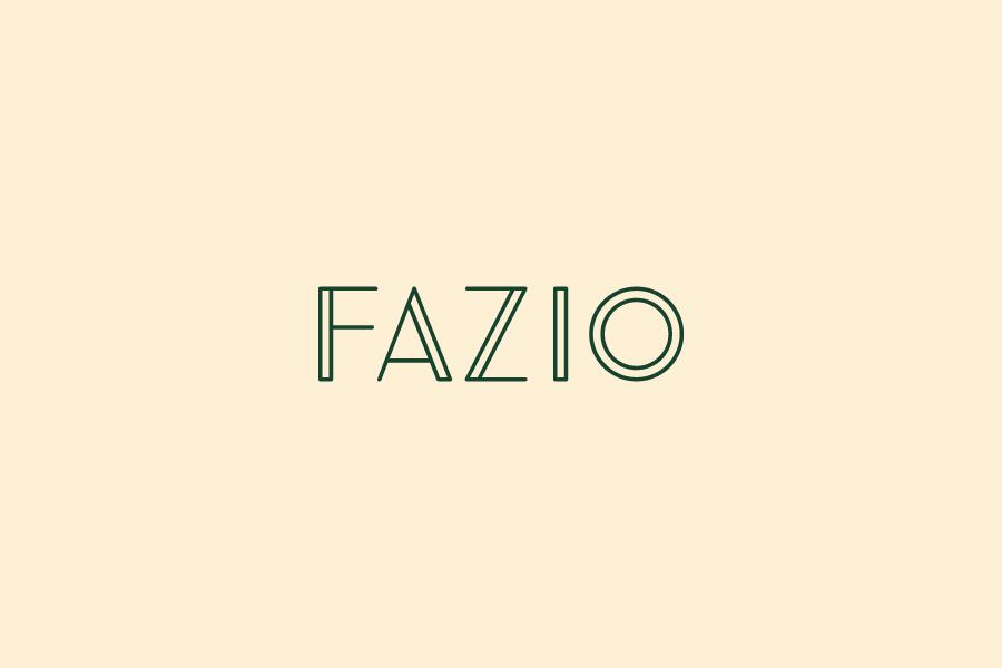 Fazio Restaurant Branding